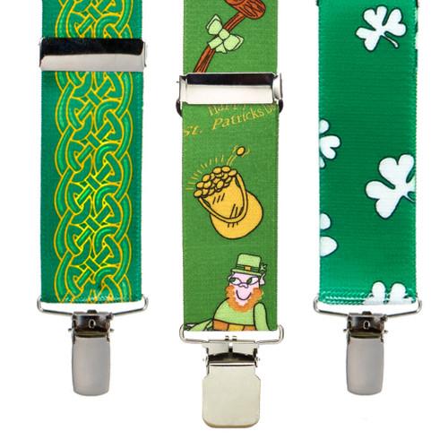 Irish and St. Patrick's Day Suspenders