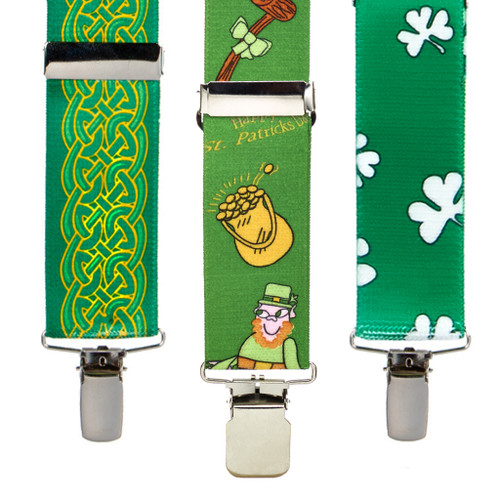 Irish and St. Patrick's Day Suspenders