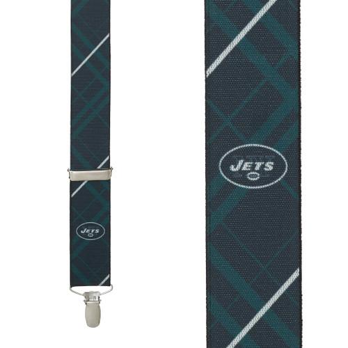 New York JETS Football Suspenders