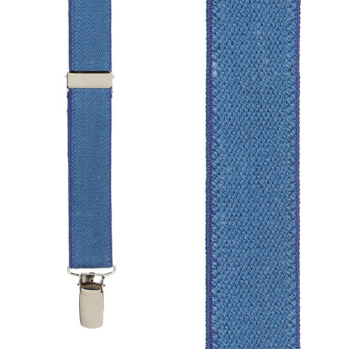 Dark Denim Suspenders - 1 Inch Wide