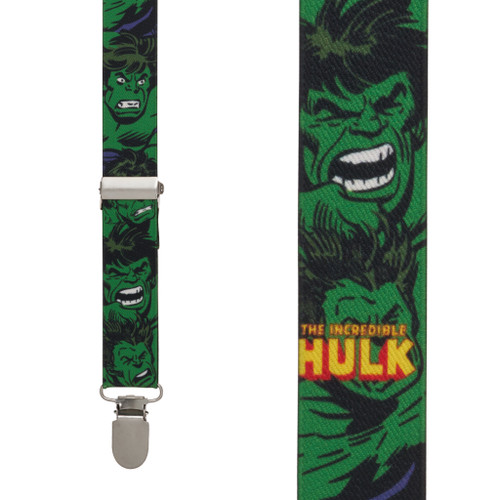 Incredible Hulk Suspenders
