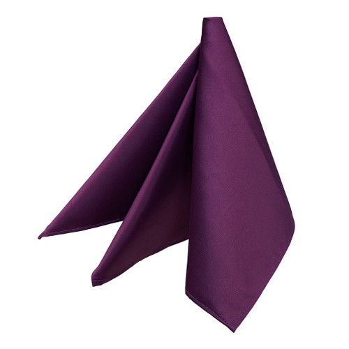 Pocket Square - PLUM