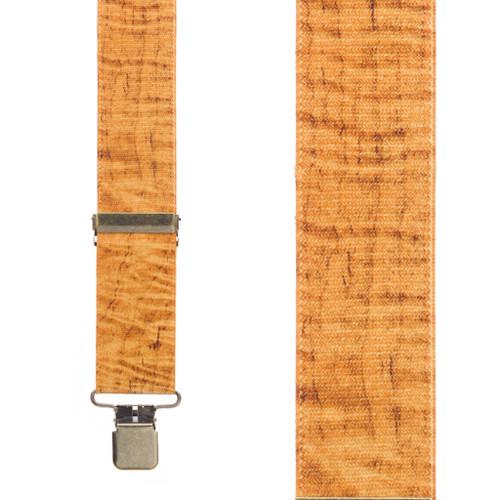 MAPLE Woodgrain Suspenders