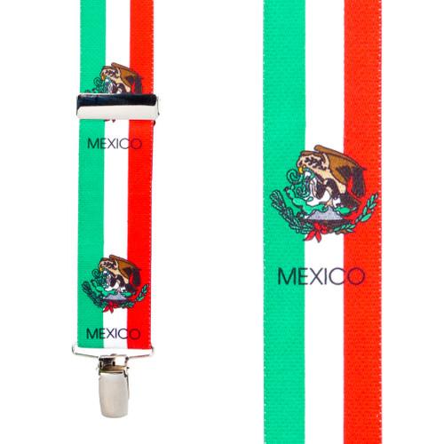 Flag Suspenders - MEXICO