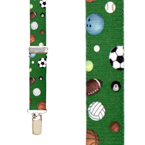 Sport Balls Suspenders for Kids