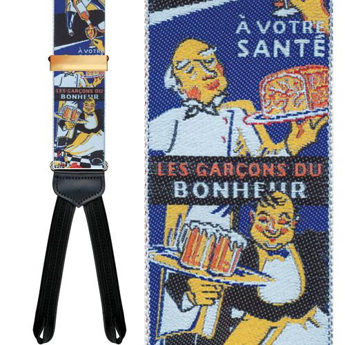 Les Garcons Limited Edition Braces