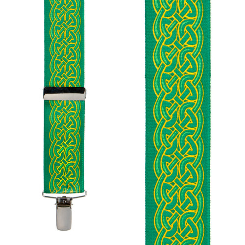 Celtic Scroll Suspenders