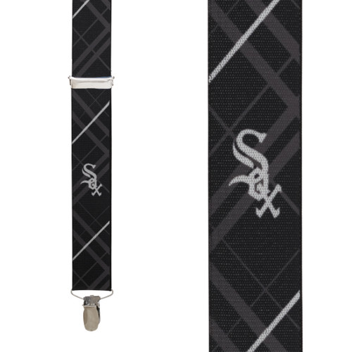 Chicago WHITE SOX MLB Team Suspenders