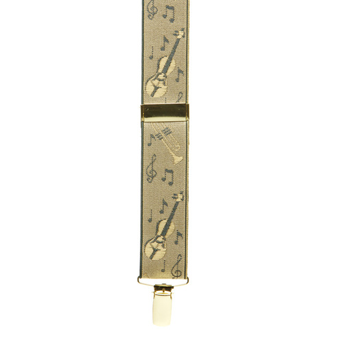 Dressy Musical Instruments Suspenders