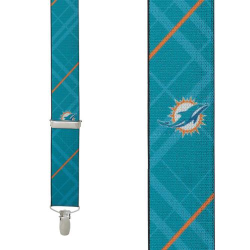 Miami DOLPHINS Football Suspenders