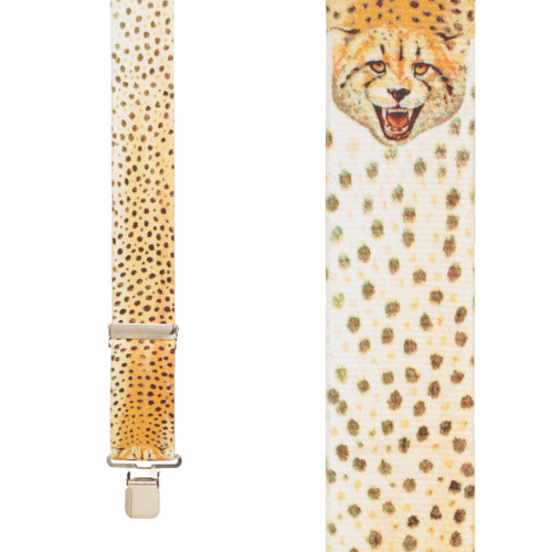 Cheetah Suspenders