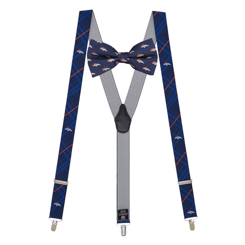 Bow Tie and Suspenders Set - Denver BRONCOS