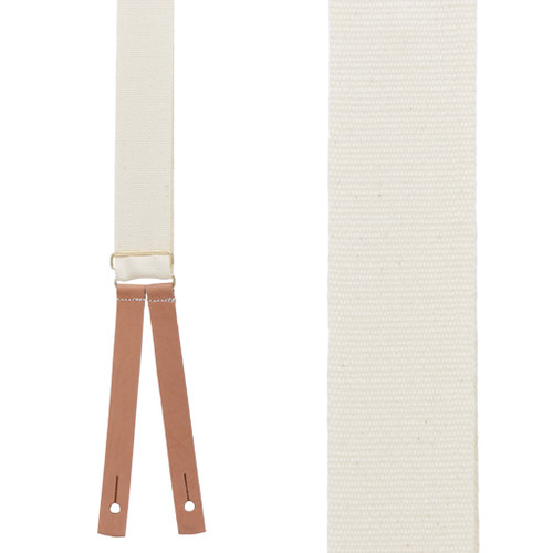 Civil War Suspenders - NATURAL