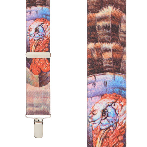 TURKEY Suspenders
