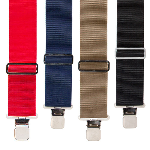 Heavy Duty Non-Stretch Work Suspenders