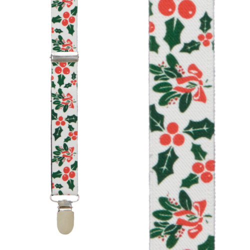 Mistletoe Suspenders