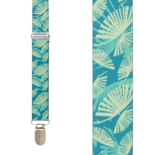 Palm Leaves Suspenders