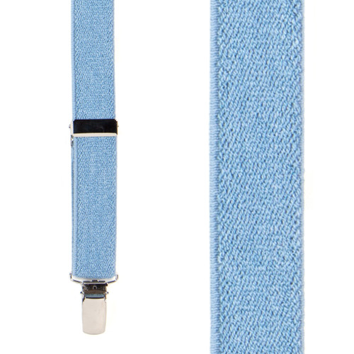 Denim Suspenders - 1 Inch Wide