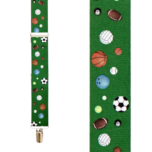 Sports Ball Suspenders