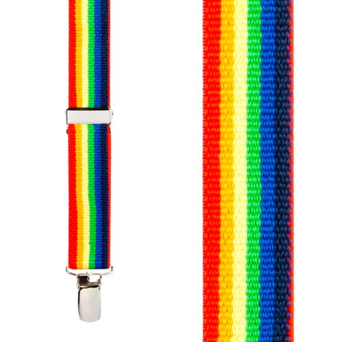 Rainbow Suspenders for Kids