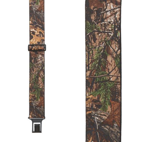 Realtree XTRA Camo Suspenders - Belt Clip