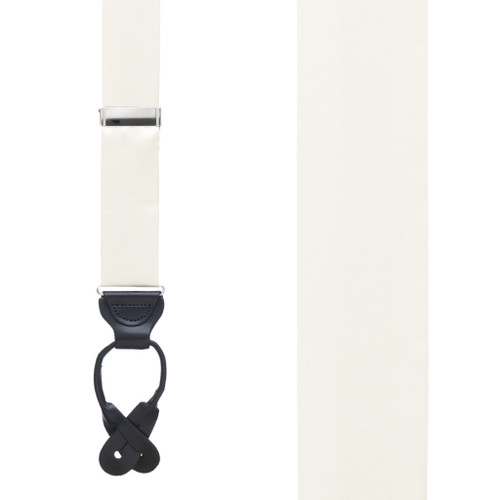 IVORY Bangkok Silk Suspenders - Button