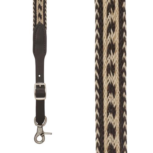 Horsehair Suspenders - SIERRAWEAVE