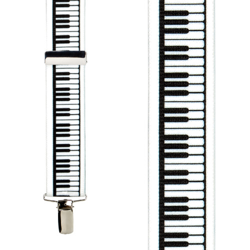 piano keys musical suspenders