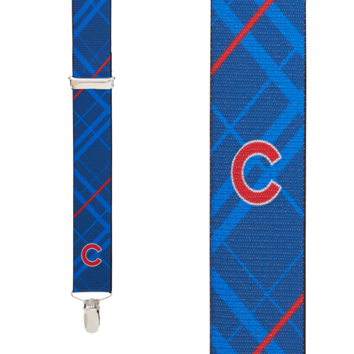 Chicago CUBS MLB Team Suspenders