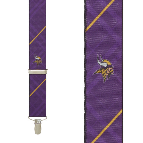 Minnesota VIKINGS Football Suspenders
