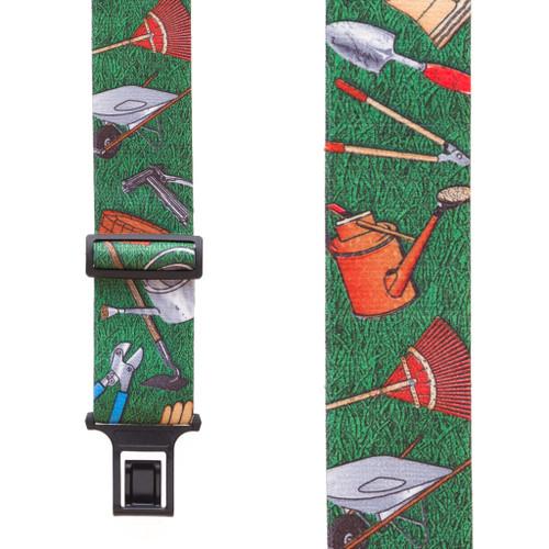 Garden Tools Suspenders - Belt Clip