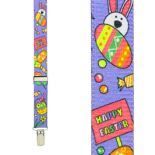 Easter Suspenders For Kids