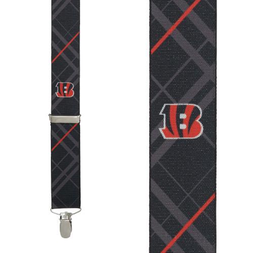 Cincinnati BENGALS Football Suspenders