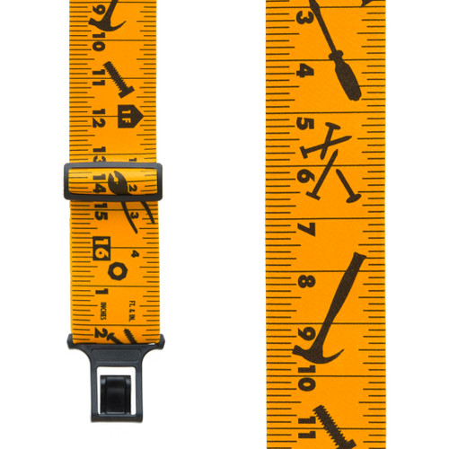 Tape Measure Suspenders - Belt Clip