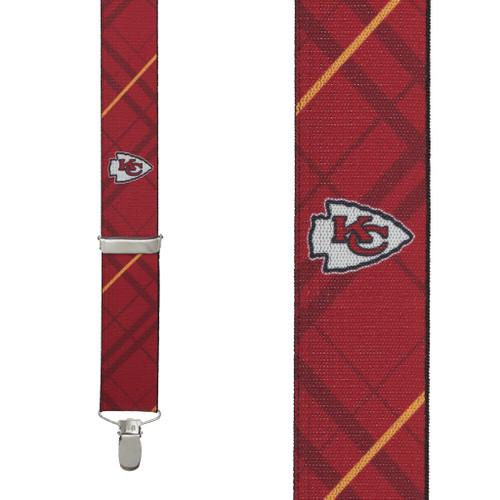 Kansas City CHIEFS Football Suspenders