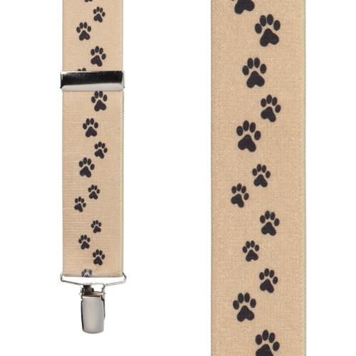 Puppy Toes Suspenders