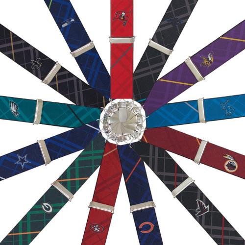 Football Team Suspenders - NFC Teams