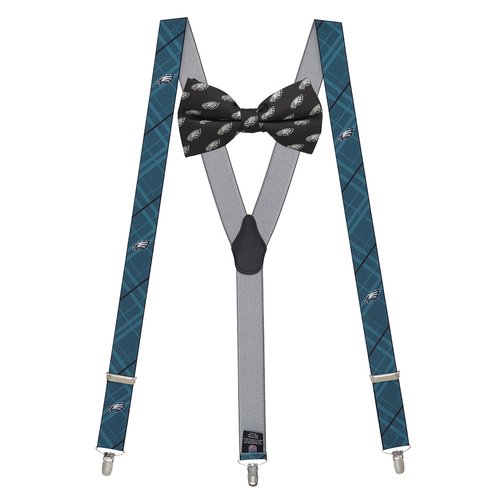 Bow Tie and Suspenders Set - Philadelphia EAGLES