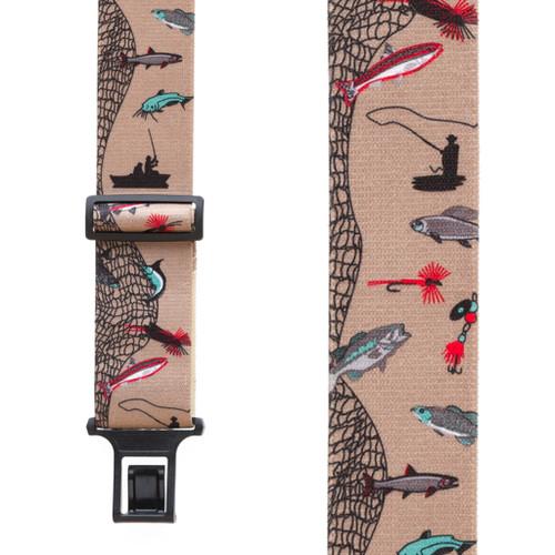Fisherman Suspenders 2 Inch Wide - Belt Clip