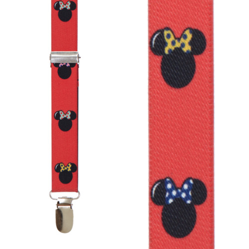 Minnie Mouse Suspenders