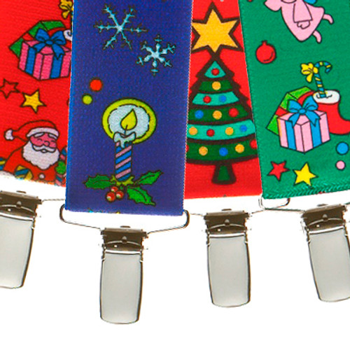Christmas Cheer Suspenders