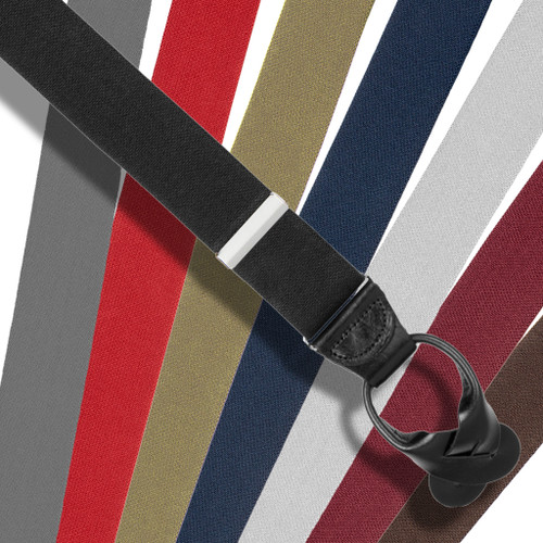 Big & Tall Suspenders - Button-on