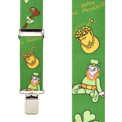Leprechaun Suspenders
