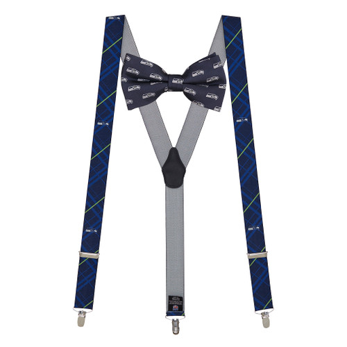 Bow Tie and Suspenders Set - Seattle SEAHAWKS