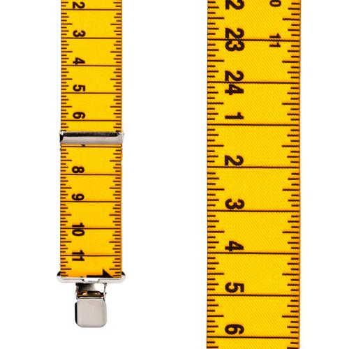Tape Measure Suspenders - Construction Clip