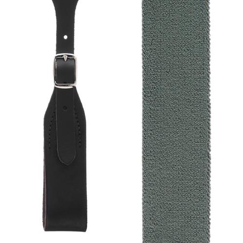 Rugged Comfort Suspenders - Belt Loop CACTUS GREEN