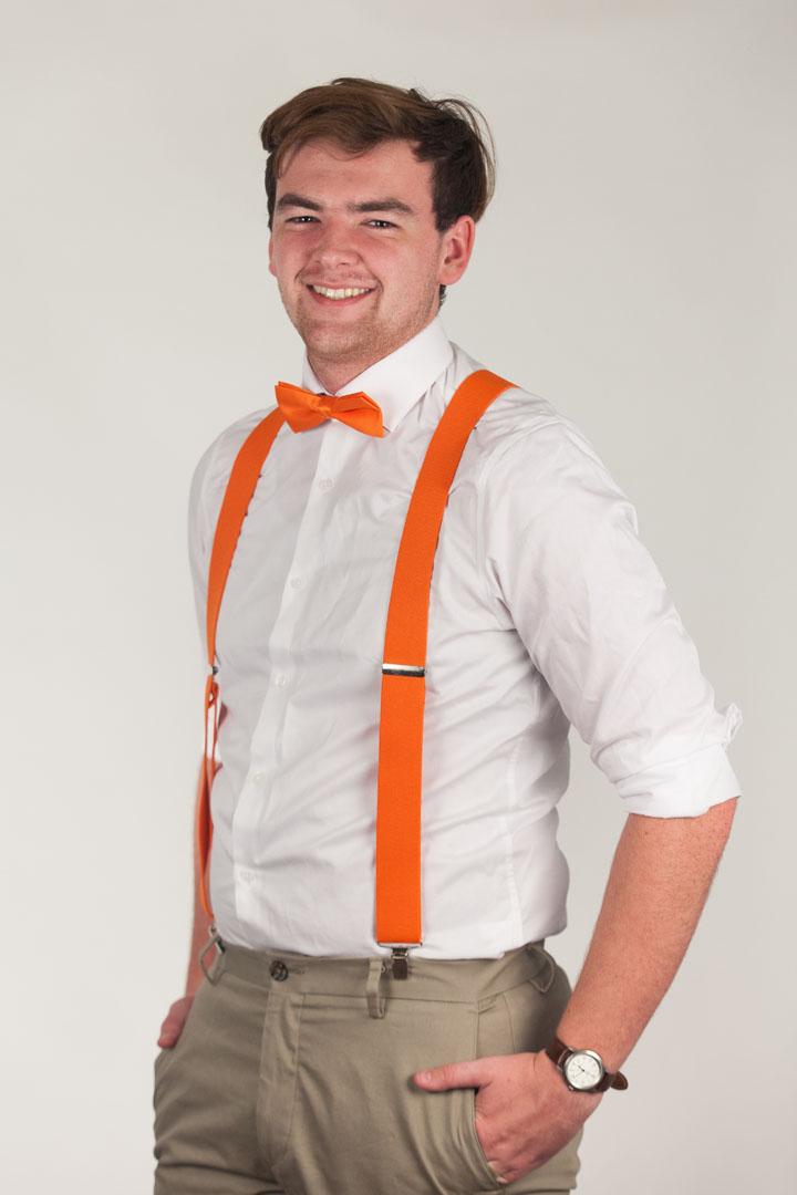 Bow Tie - Pre-Tied ORANGE