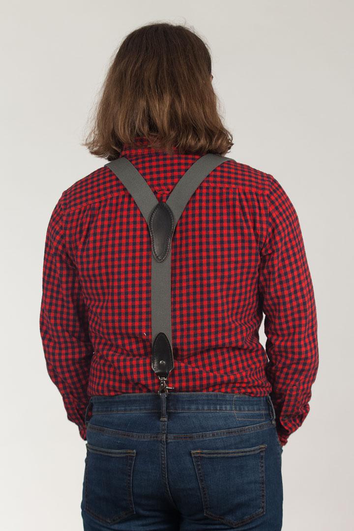 Rugged Comfort Suspenders - Trigger Snap CACTUS GREEN