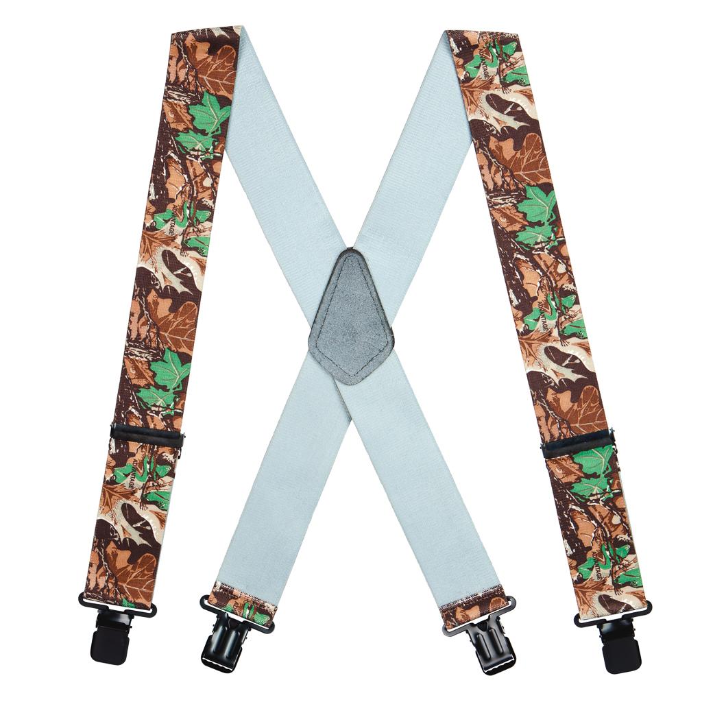 Advantage Camo Suspenders - 2 Inch Wide