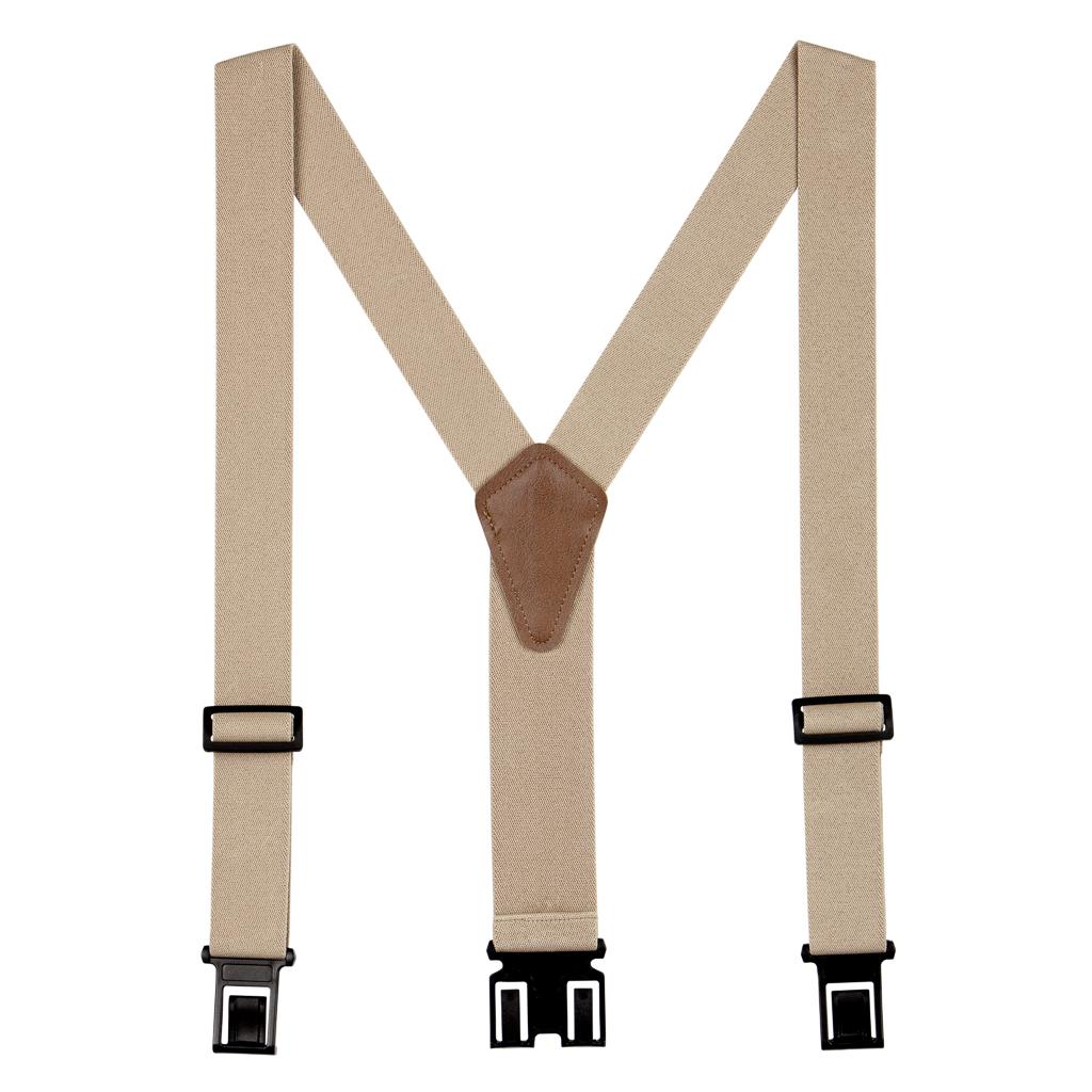 1.5 Inch Wide Perry Belt Clip Suspenders
